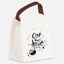 splatter_design Canvas Lunch Bag