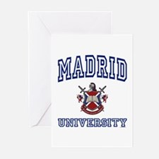 MADRID University Greeting Cards (Pk of 10)