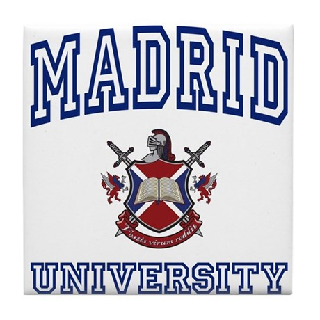 MADRID University Tile Coaster