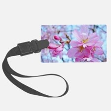 Pink Blossoms 79A Spring Tree Bl Luggage Tag
