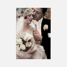 WEDDING COUPLE Rectangle Magnet