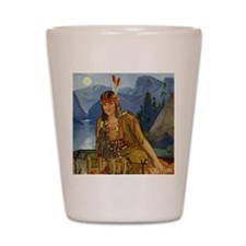 INDIAN MAIDEN Shot Glass