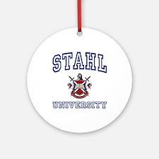 STAHL University Ornament (Round)