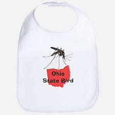 Ohio State Bird Bib