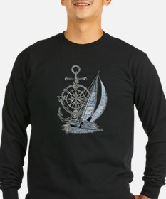 Sailing Boat Long Sleeve T-Shirt