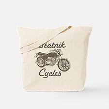 Beatnik cycles Tote Bag