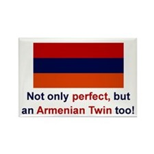 Perfect Armenian Twin Rectangle Magnet