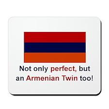 Perfect Armenian Twin Mousepad