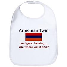 Good Looking Armenian Twin Bib