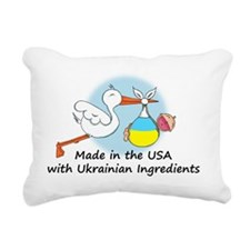 stork baby ukr 2 Rectangular Canvas Pillow