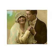 WEDDING COUPLE Throw Blanket