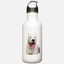 Dogo_Argentino Water Bottle