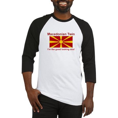 Macedonian Twin (Good Looking) Baseball Jersey