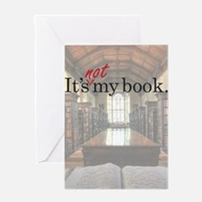 Its-Not-My-Book_23-35 Greeting Card