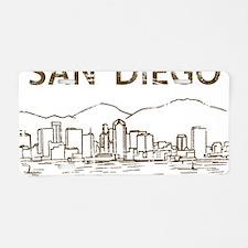 San Diego1 Aluminum License Plate