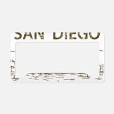 San Diego1 License Plate Holder