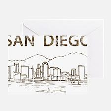 San Diego1 Greeting Card