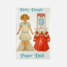 Dolly Dimple Rectangle Magnet