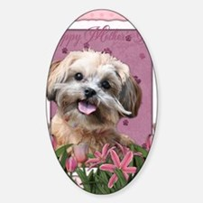 PinkTulips_ShihPoo Decal