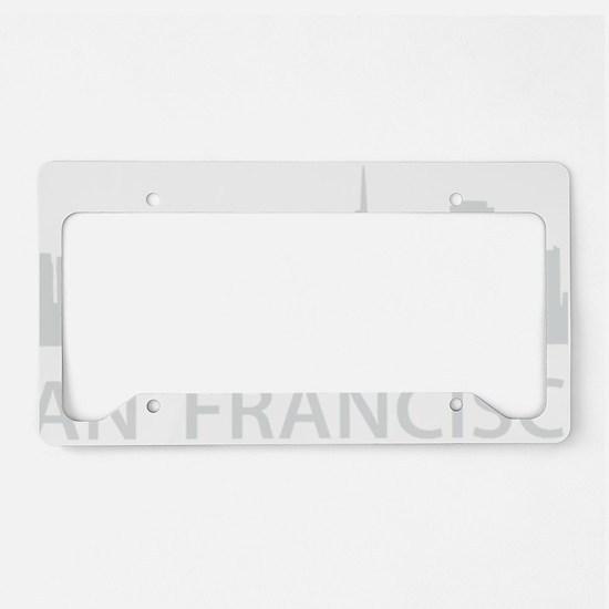 San Francisco1Bk License Plate Holder