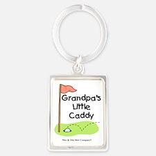 grandpas-little-caddy Portrait Keychain