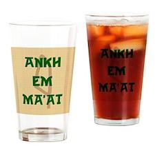 AnkhEmMaatSQU Drinking Glass