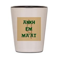 AnkhEmMaatSQU Shot Glass