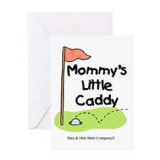 mommys-little-caddy Greeting Card