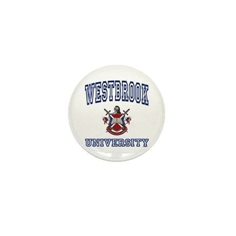 WESTBROOK University Mini Button (100 pack)