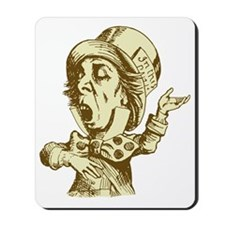 Mad Hatter Sepia Mousepad