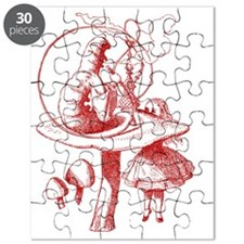 Alice and Caterpillar Red Puzzle