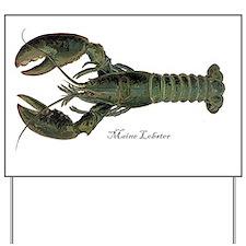 Lobster Yard Sign
