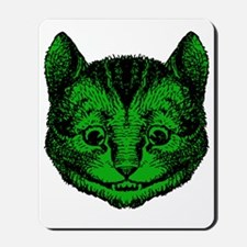 Cheshire Cat Green Fill Mousepad
