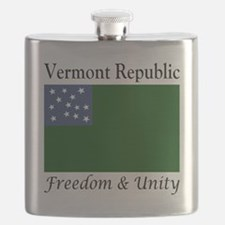 Vermont Republic Freedom & Unity Flask