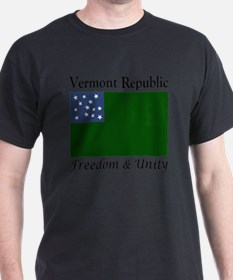 Vermont Republic Freedom & Unity T-Shirt
