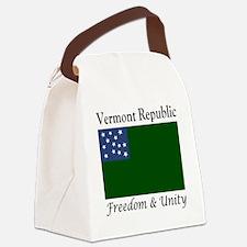Vermont Republic Freedom & Un Canvas Lunch Bag