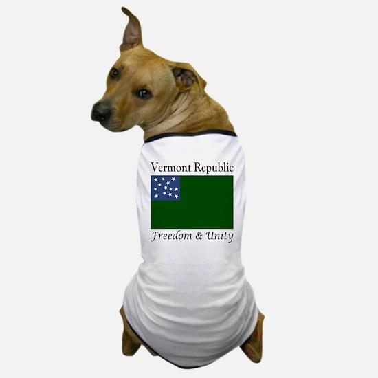 Vermont Republic Freedom & Unity Dog T-Shirt