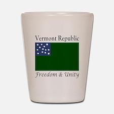 Vermont Republic Freedom & Unity Shot Glass