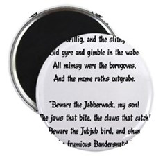 jabberwocky01 Magnet