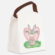 Honey Bunny Canvas Lunch Bag