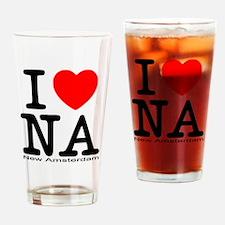 I Love New Amsterdam Drinking Glass