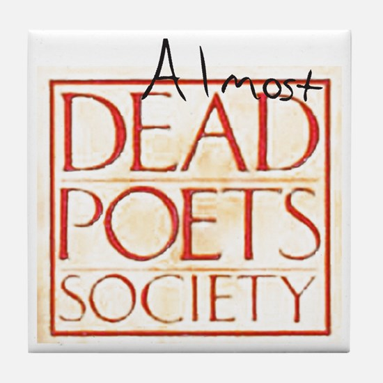 dead_poets_society copy Tile Coaster