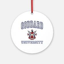 GODDARD University Ornament (Round)