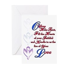 O Come Holy Spirit Greeting Card