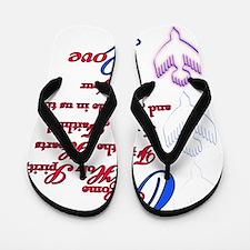 O Come Holy Spirit Flip Flops