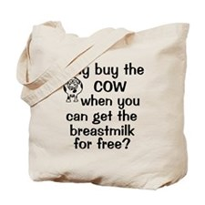 whybuythecow_breastmilkfree Tote Bag