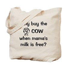 whybuythecow Tote Bag