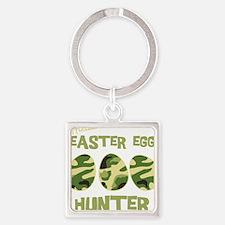 hunter_dark Square Keychain