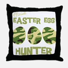 hunter_dark Throw Pillow