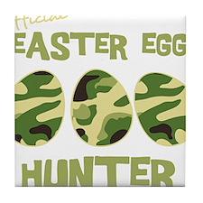 hunter_dark Tile Coaster